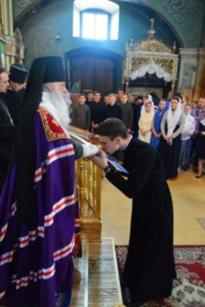 25-й випуск вихованців Чернігівського духовного училища регентів–псаломщиків