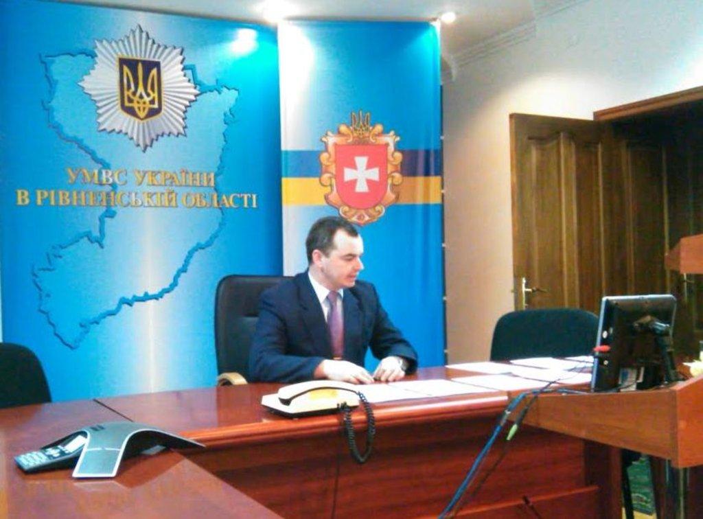 Голова Громадської ради при УМВС в Рівненській області Олександр Зайчук