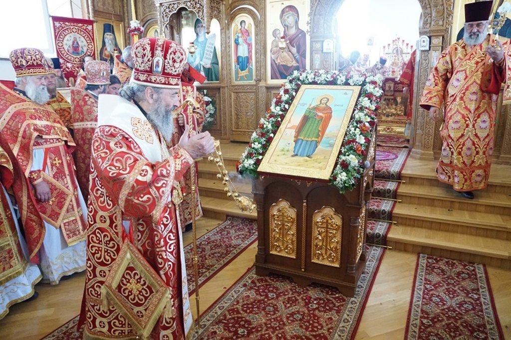 Блаженніший Митрополит Онуфрій освятив храм на честь великомученика Іоанна Сучавського