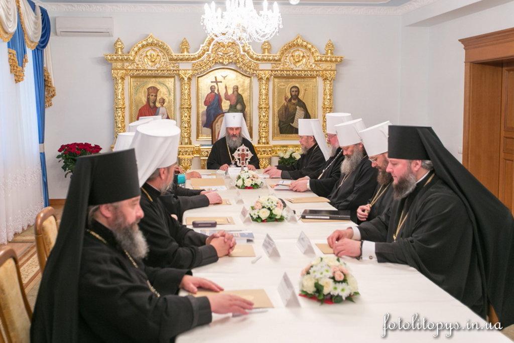 Відбулося засідання Священного Синоду УПЦ