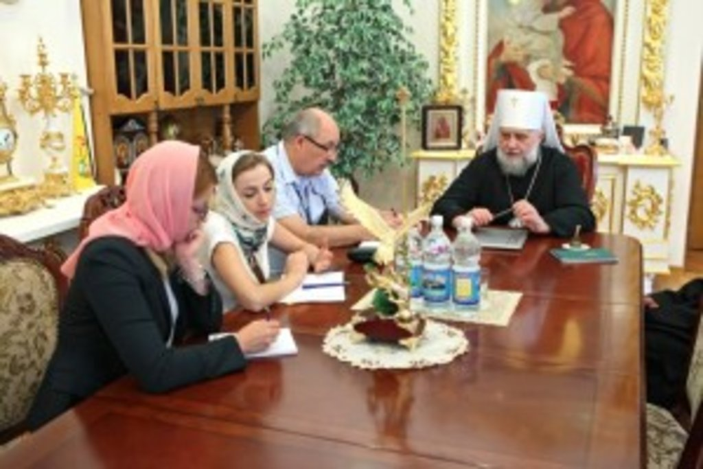 Владика Володимир розповів спостерігачам Місії ОБСЄ про непросту ситуацію навколо Почаївської Лаври