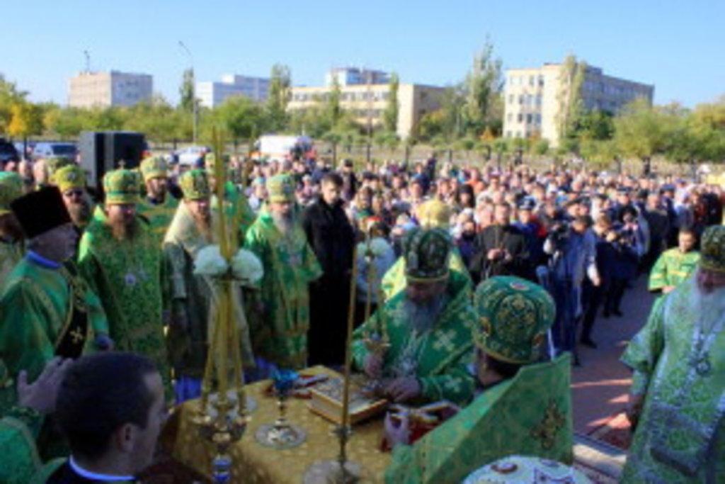 Архипастырский визит Предстоятеля УПЦ в Северодонецк