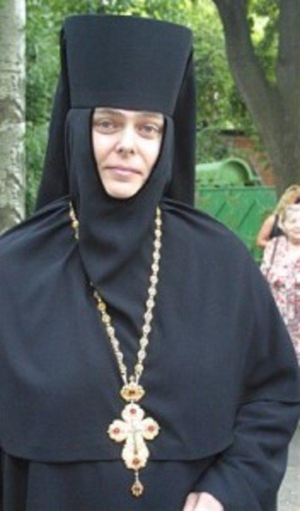 Голова Синодального відділу УПЦ «Церква і культура» ігуменя Серафима (Шевчик)