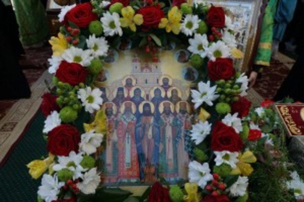 Ікона Собору Вінницьких святих