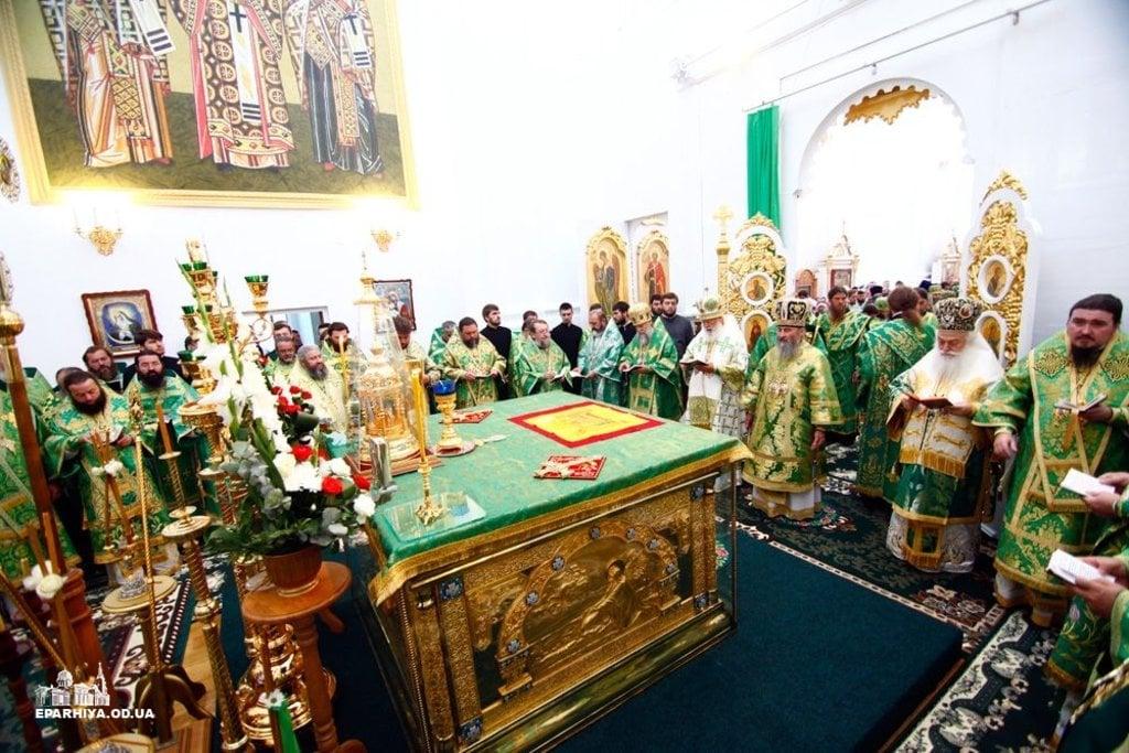 Блаженніший Митрополит Онуфрій очолив урочистості, присвячені 1000-літтю святого князя Володимира Великого, у Браїлівському монастирі