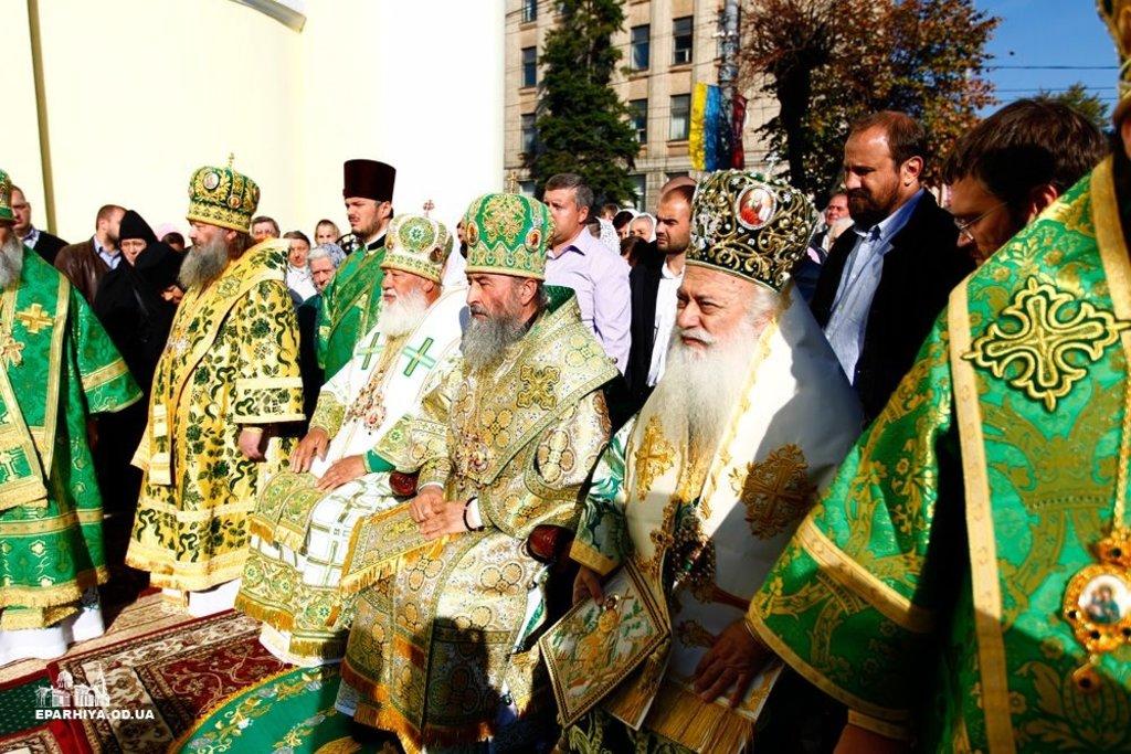 Предстоятель вшанував пам'ять Собору Вінницьких святих