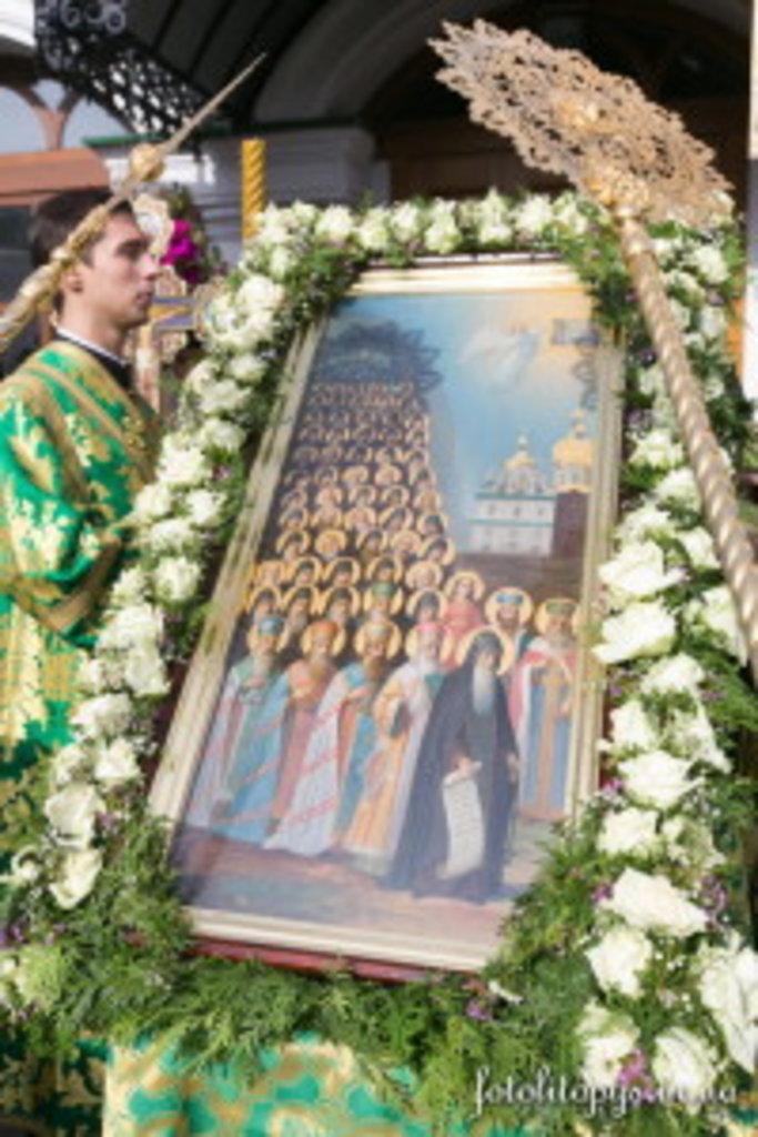 Собор преподобних отців Києво-Печерських, які у Ближніх печерах (прп. Антонія) спочивають