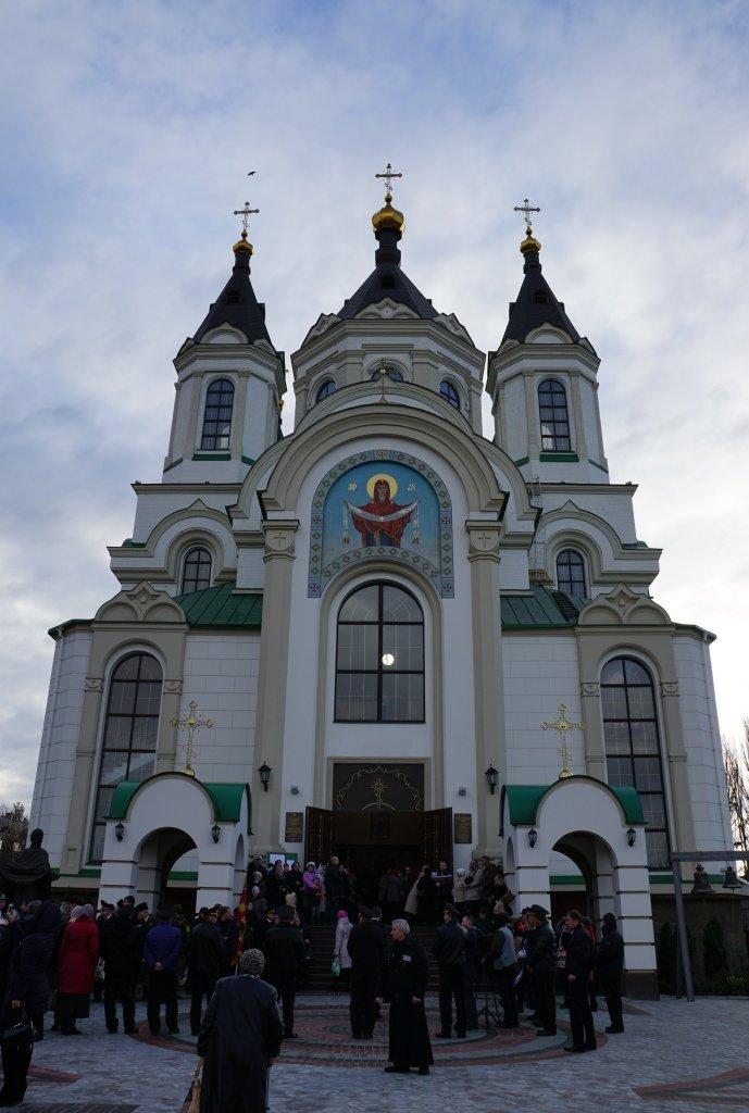 Блаженніший Митрополит Онуфрій вперше відвідав Запорізьку єпархію в якості Предстоятеля УПЦ