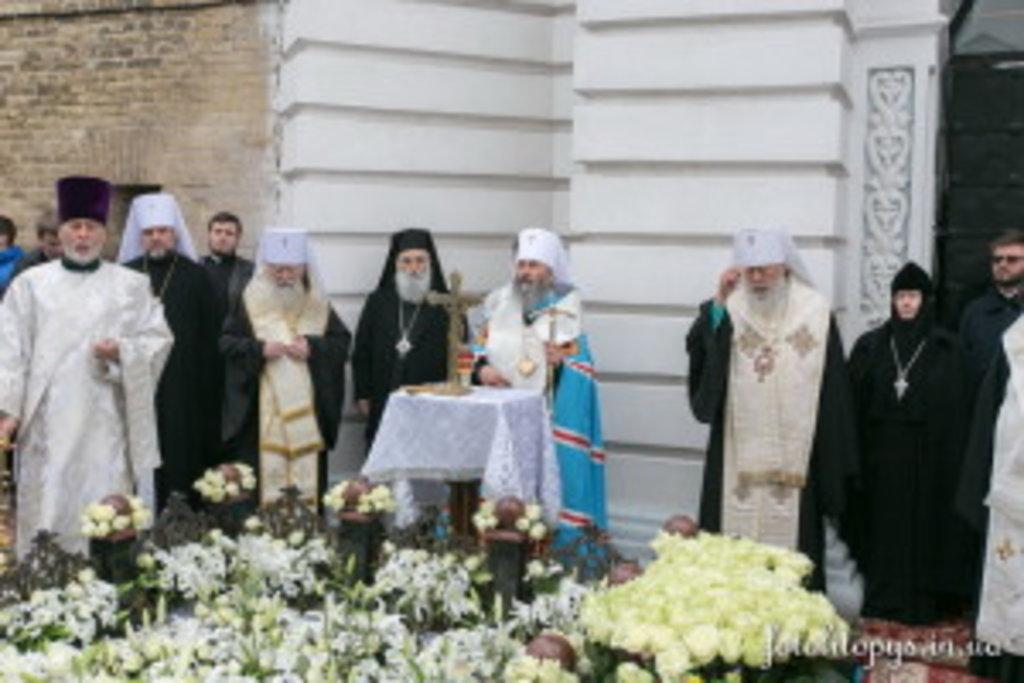 Предстоятель УПЦ: Блаженніший Митрополит Володимир – це великий Архіпастир (+відео)
