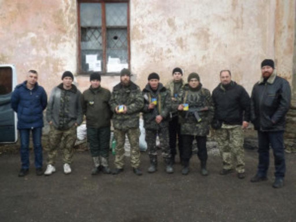 Клірики Вінницької єпархії здійснили чергову поїздку до зони збройного конфлікту на Сході