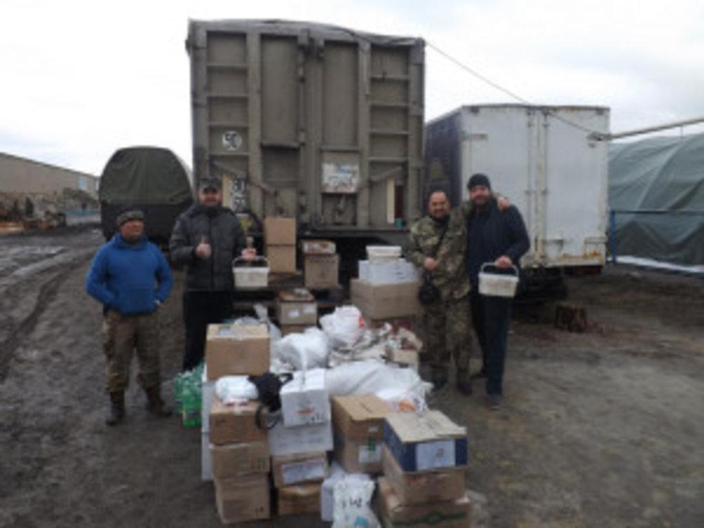Від парафіян і благодійниві Вінницької єпархії була передана допомога військовим
