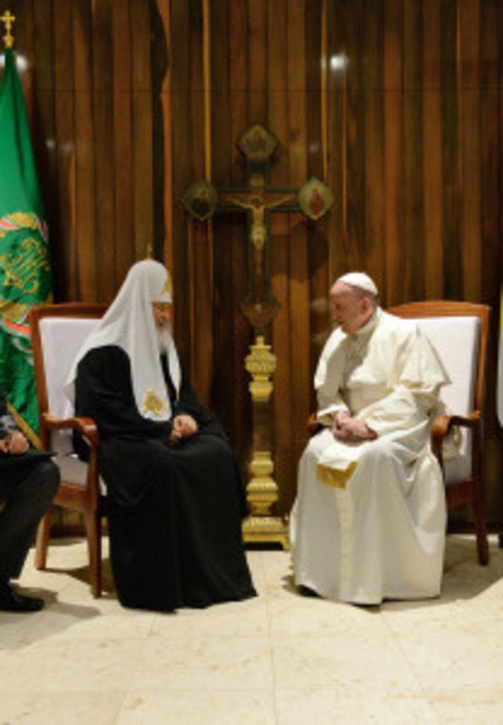 Патріарх і Понтифік обговорили питання співпраці церков в Україні