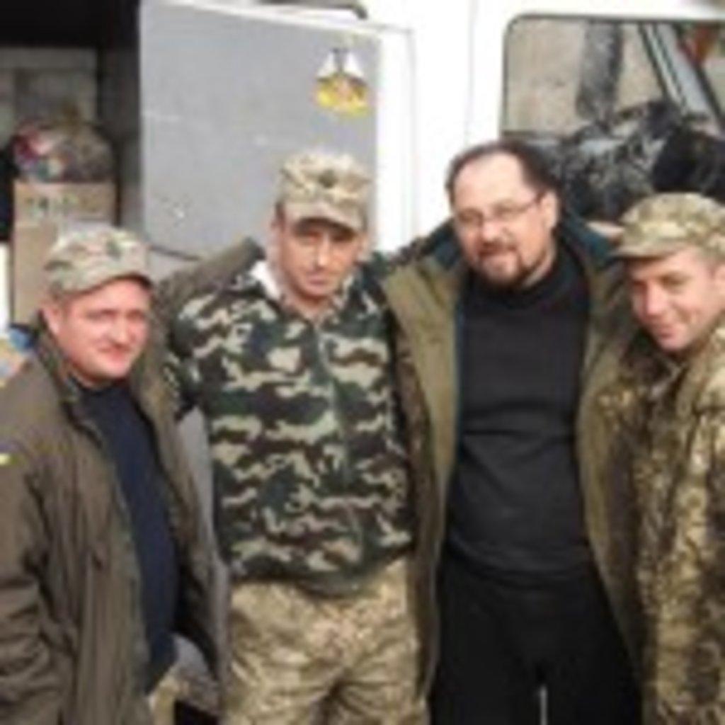 5 березня з чергової поїздки в зону АТО повернулися клірики Вінницької єпархії протоієреї Олексій Волков та Анатолій Кузнєцов