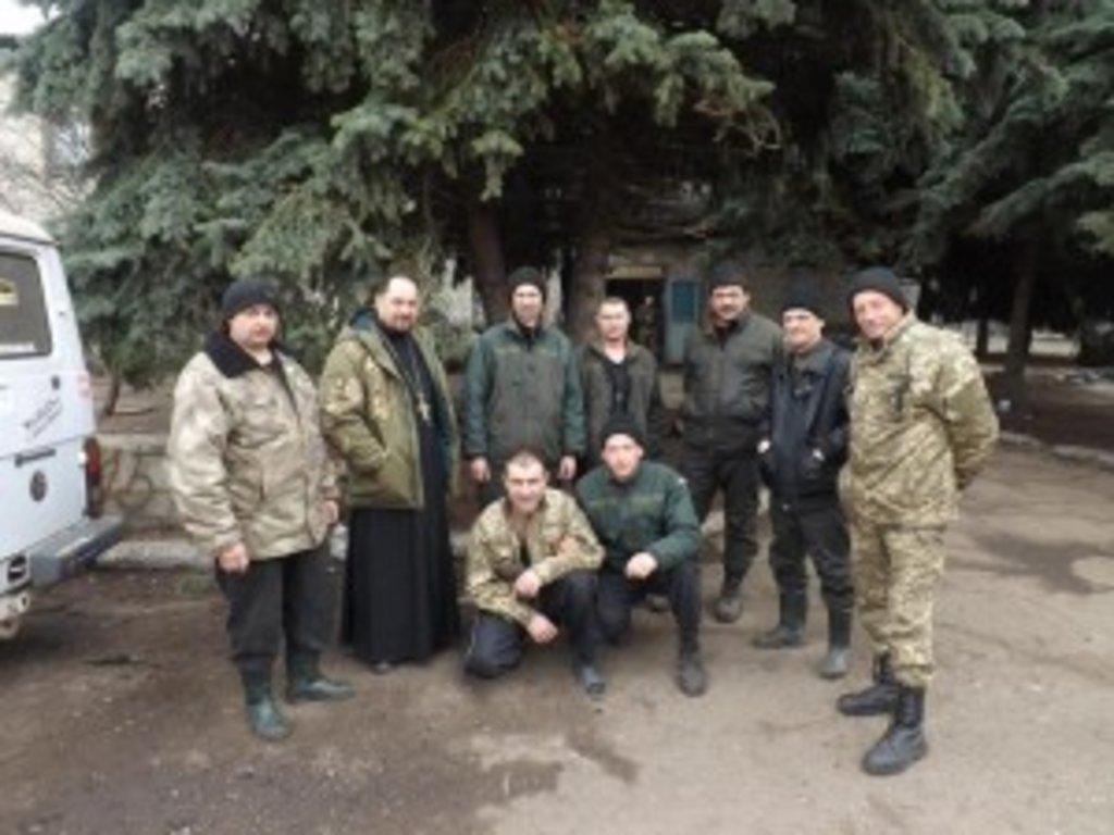 Вінницькі священики відвідали військових зони АТО