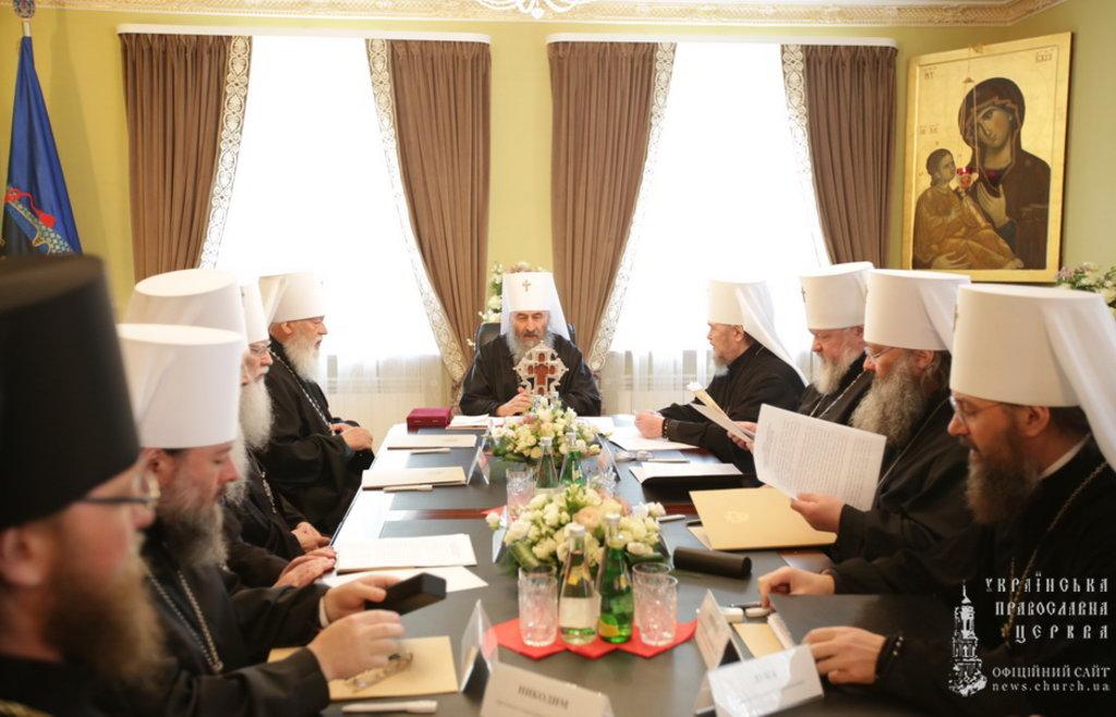 Священний Синод УПЦ (19.04.2016)