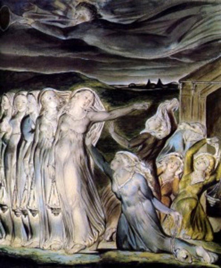 Уильям Блэйк. Притча о десяти девах. 1822