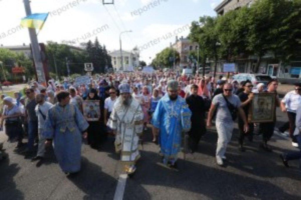 26 червня 2016 року, в Неділю Всіх святих, день пам'яті Запорізьких святих, в Запоріжжі відбувся численний хресний хід, присвячений 24-річчю Запорізької єпархії