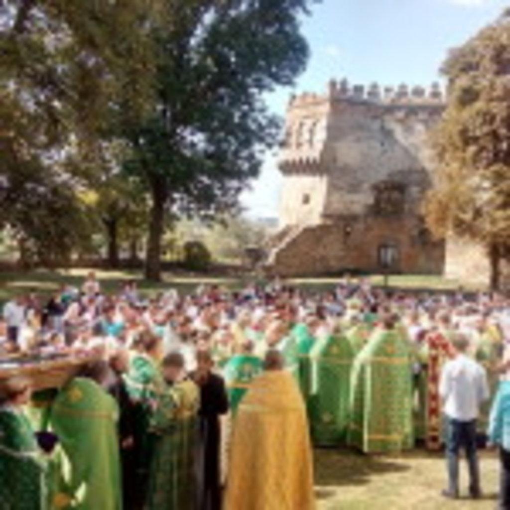 Острозького князя преподобного Феодора особливо вшанували в його рідному місті (фото)