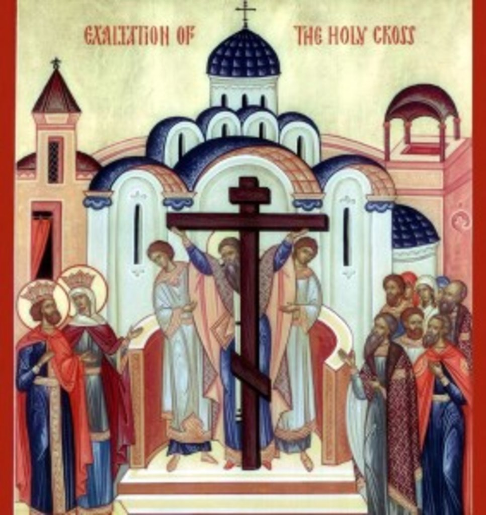 Воздвиження Хреста Господнього — історія, іконографія