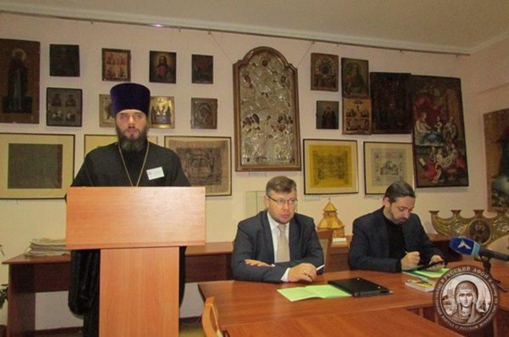 Викладач Одеської духовної семінарії протоієрей Дмитро Яковенко
