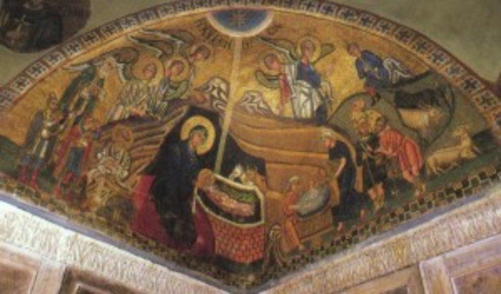 Мозаїка собору монастиря Осіос Лукас у Фокиді (Греція), ХІ ст.