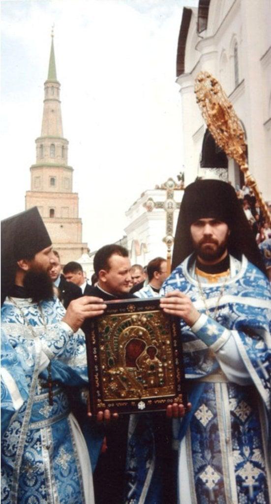 Казанская икона Божьей Матери возвращена в Казань