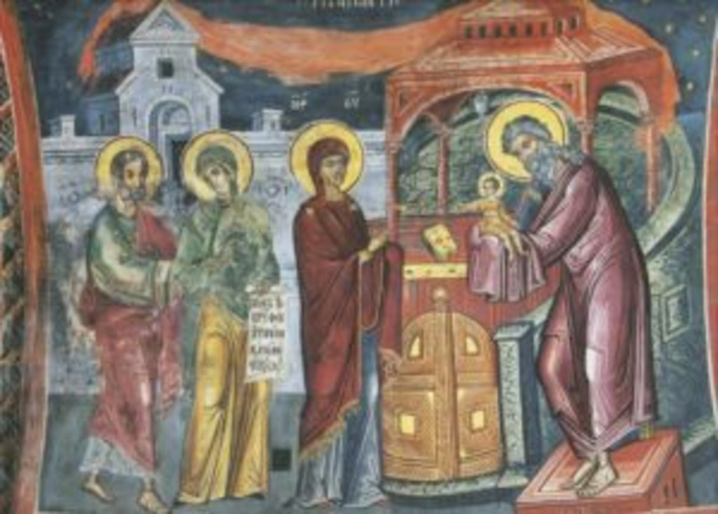 15 февраля — Сретение Господа нашего Иисуса Христа (+видео)
