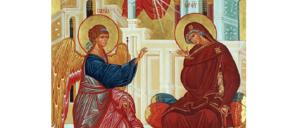 7 квітня Церква святкує Благовіщення Пресвятої Богородиці (рос.)