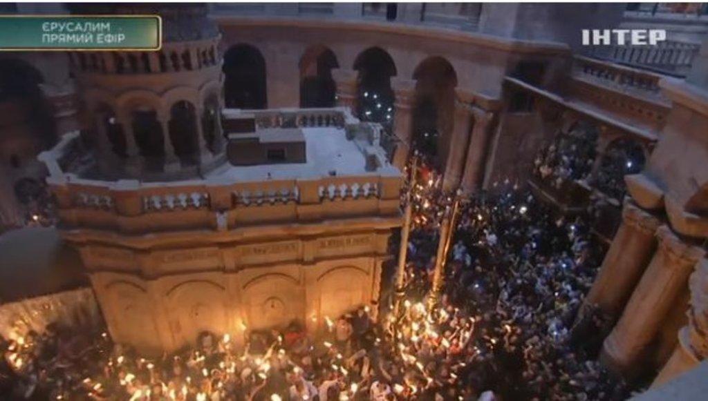 В Єрусалимі очікують насходження Благодатного вогню