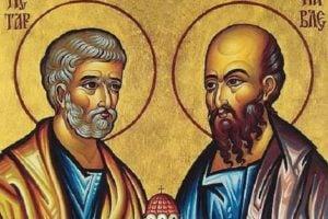 12 июля – день святых первоверховных апостолов Петра и Павла
