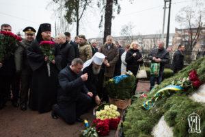 Предстоятель почтил память ликвидаторов аварии на Чернобыльской АЭС