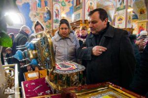 В Одессе поклонились нетленным мощами святого апостола Андрея Первозванного (фото, видео)