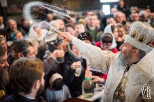 У день Навечір'я Богоявлення Предстоятель звершив святкове богослужіння у Києво-Печерській Лаврі (+відео)