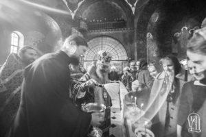 Блаженнейший Митрополит Онуфрий возглавил Литургию Преждеосвященных Даров в Киево-Печерской Лавре