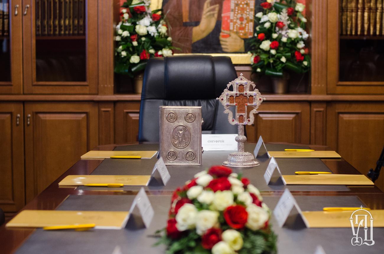 14 березня Image: Журнали засідання Священного Синоду Української