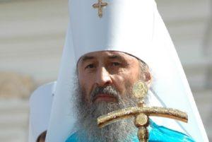 Блаженнейший Митрополит Онуфрий посетил в реанимации архиепископа Илария