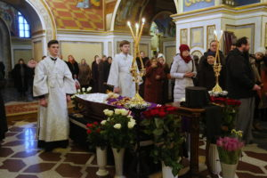 В Киево-Печерской Лавре состоялось отпевание архиепископа Илария (Шишковского)