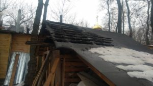 В Киеве в седьмой раз попытались сжечь храм УПЦ в Бабьем Яру