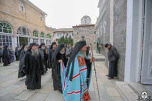 Предстоятель УПЦ на Афоне почтил память матери св. Пантелеимона Целителя