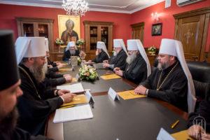 Священный Синод избрал новых епископов Украинской Православной Церкви