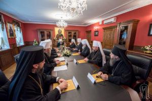 Состоялось очередное заседание Священного Синода Украинской Православной Церкви (+ЖУРНАЛЫ, видео)