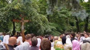 Православные киевляне совершили молебен за сохранение христианских ценностей в центре столицы