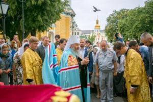 Українська Православна Церква молитовно відзначила четверту річницю інтронізації свого Предстоятеля (+фото)