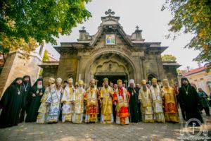 Управляющий делами УПЦ принял участие в торжествах по случаю юбилея митрополита Русенского Наума в Болгарии