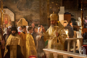 Напередодні Неділі 25-ї після П'ятидесятниці Блаженніший Митрополит Онуфрій очолив всенічне бдіння у Києво-Печерській Лаврі