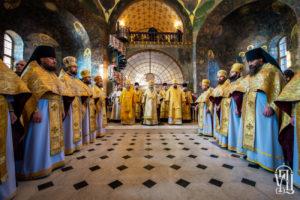 У Неділю 25-ту після П'ятидесятниці Предстоятель очолив Божественну літургію у Києво-Печерській Лаврі
