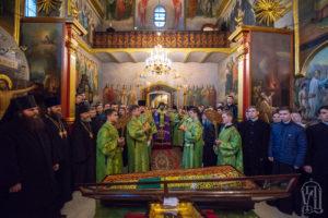 В Киевских духовных школах начались торжества по случаю дня памяти прп. Нестора Летописца