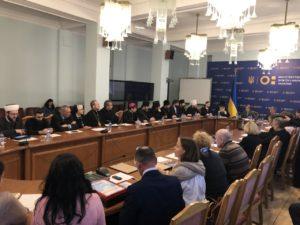 Архиереи УПЦ встретились с Министром образования и науки Украины