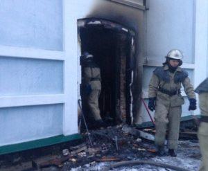На Белоцерковщине произошел поджог Свято-Троицкого храма УПЦ (фото)