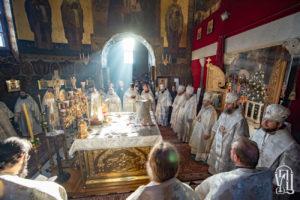 В день Богоявления Предстоятель возглавил Божественную литургию в Киево-Печерской Лавре